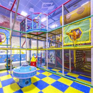 Сферическая панорама 360 детской игровой зоны в Космо