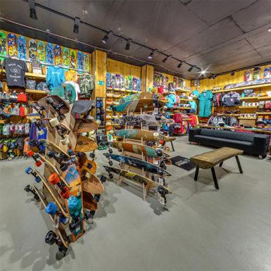 Сферическая панорама магазина Доминант