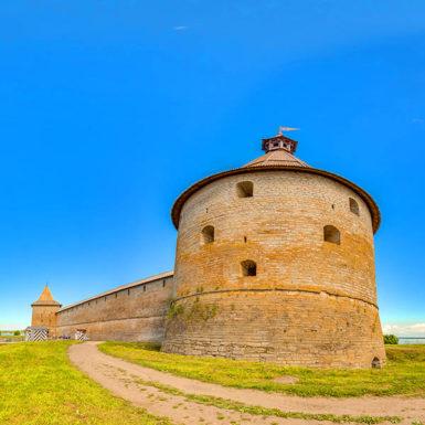 Виртуальная экскурсия по крепости Орешек
