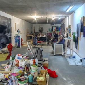 Виртуальный 3D тур по мастерской художника Кудина Захара.