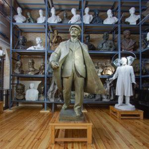 Вирутальный 3D тур по мемориальному музею-мастерской З.И. Азгура